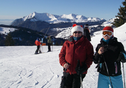 Christmas ski holiday