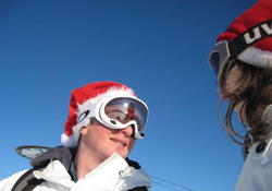 Christmas-Day-skiing-Les-Gets