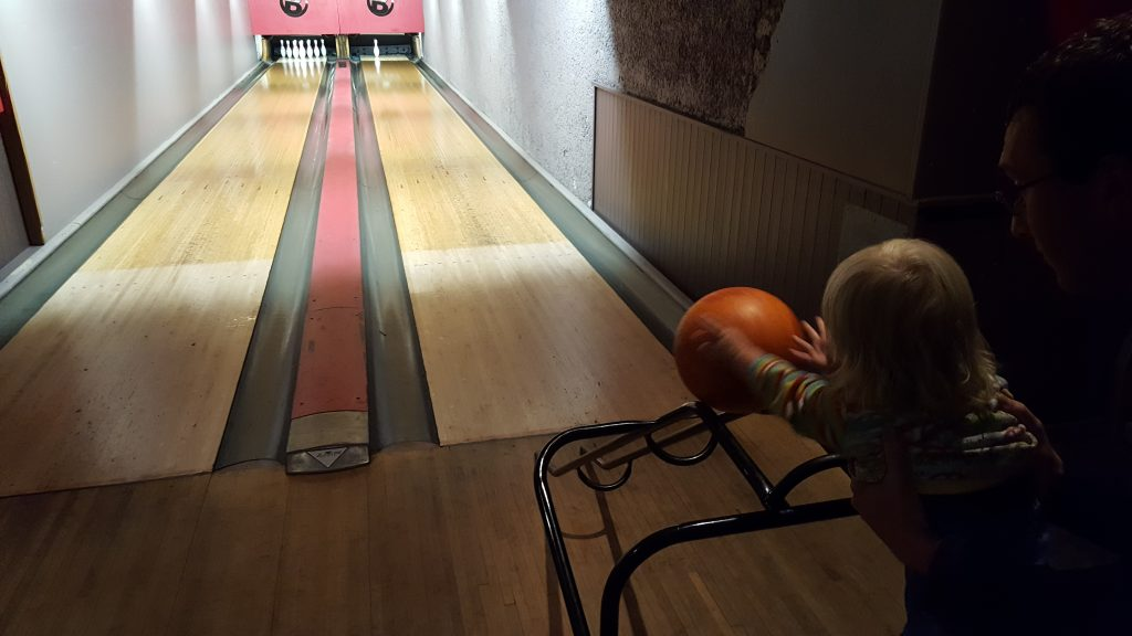 Bowling for the whole family in Les Gets