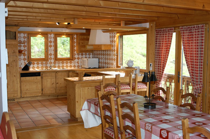 Chalet Elise Kitchen