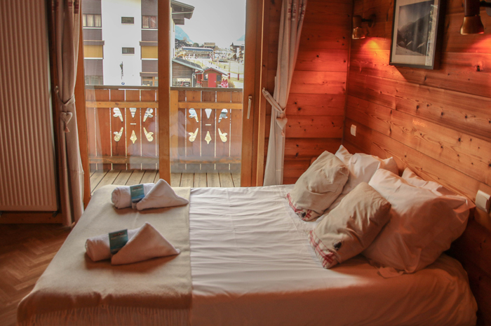 Chalet Forestiere Double Bedroom