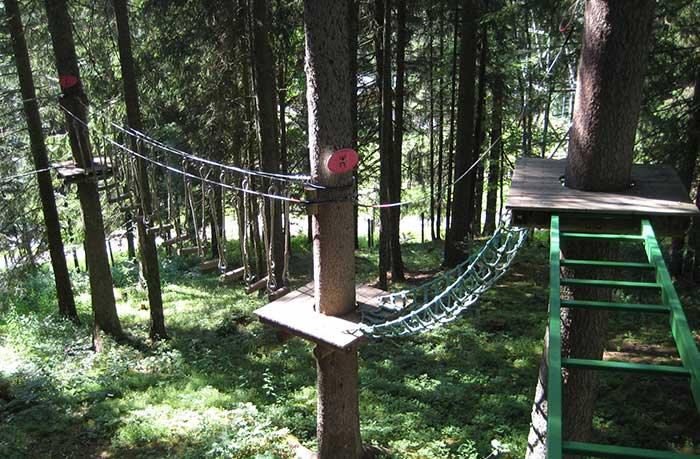Adventure Park in Les Gets