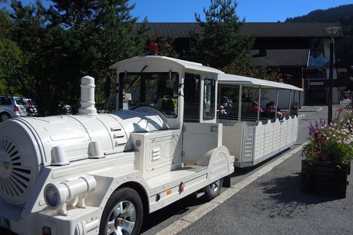 Les Gets' little road train, Le Petit Train