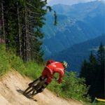 Mountain biking in Les Gets, France