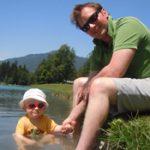 The lake at Samoens