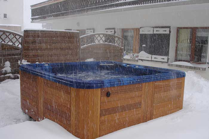 Chalet Bruyeres Hot Tub