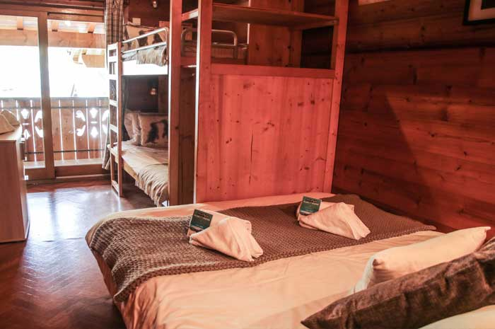 Chalet Forestiere Bedroom